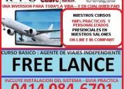 Curso agente de viajes free lance. reservas