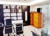 Alquiler oficina equipada c.c. reda building  rof2