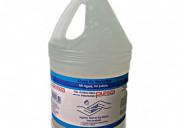 Gel antibacterial pureza de galon 3,78ml 15$