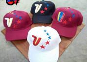 Gorras venezuela - tricolor