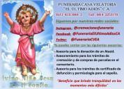 Funeraria y asesoramiento de cremacion y entierro