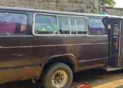 Vendo camioneta de pasajeros usada