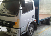 Vendo camion donfeng plataforma a diesel aÑo 2013