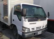 Vendo camion npr con cava aÑo 2009