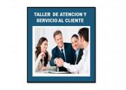 Taller de atencion y servicio al cliente