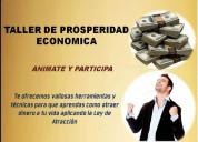 Taller de prosperidad econÓmica