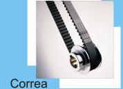 Correa trapezoidal para vehiculos y maquinaria