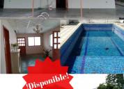Hermosa casa con piscina en san juan de los morros