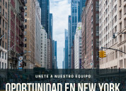 Importante empresa solicita personal en new york