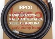 Mangueras para surtidores de gasolina o diesel