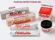 Pastas detectoras de agua o combustibles kolor kut