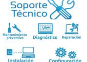 Soporte tecnico mantenimiento preventivo y correct