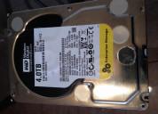 Disco duro interno wd de 4tb (sata iii, 3.5