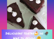 Ricas tortas de chocolate y tres leches