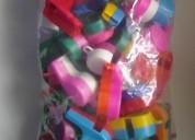 Silbatos/ pitos de colores para fiestas y comparsa