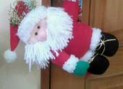 Muñecos de navidad para pomo de la puerta (artesan
