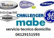 Servicio tecnico especializado whirlpool lg mabe