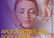 Soft laser  para rejuvenecer y eliminar el dolor