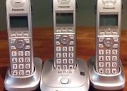 Teléfono inalámbrico digital 3 unidades + dect 6.0