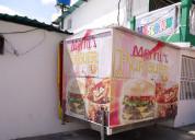 Trailers de comida rapida listo para trabajar