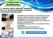 Fisioterapia rehabilitacion a domicilio