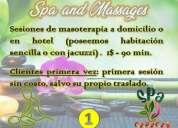 Servicios de masajes terapeuticos