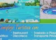 Complejo turistico con publicidad