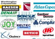 Equipos y compresores industriales