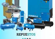 Repuestos para compresores de aire comprimido abac