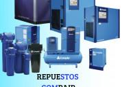 Venta de repuestos para compresores de aire compri