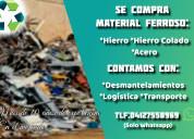 Compro materiales ferrosos