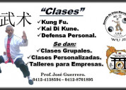 Clases d kung fu.