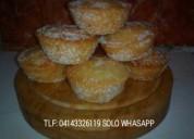 Deliciosos ponquesitos de vainilla azuca( 6 x 1$ )