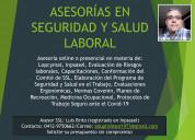 Asesorías en seguridad industrial y salud laboral