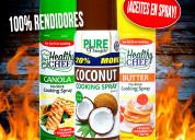 Aceite comestible en spray (promocion)