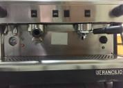 Maquina de café marca rancilio - usada