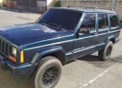 Vendo mi jeep cherokee año 2000
