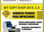 Reparacion de fotocopiadoras y recarga de toner