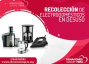 Donar electrodomÉsticos 04123852449  aqui llamenos