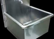 Lavamanos lavamopas de acero inoxidable