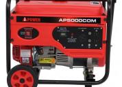 Planta generador electrica portÁtil ipower ap5000