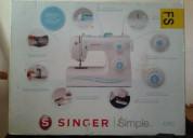 En venta máquina singer simple nueva