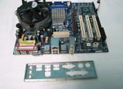 Tarjeta madre asrock 775vm800 con procesador p4