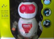 Robot bailarín con luces dance king