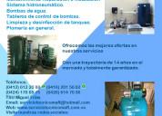 Reparacion instalacion de hidroneumaticos caracas