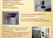 Instalación reparación calentadores agua caracas