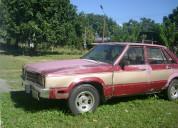 Vendo carro ford zephir,  78, operativo y barato