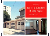 Apartamento en alquiler semi amoblado