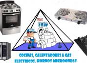 ReparaciÓn de cocinas topes y hornos microondas