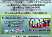 Trámites para venezolanos en el exterior